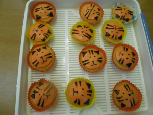 tiger cakes