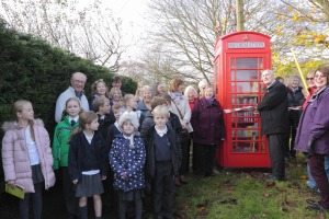Clavering infomation box opening