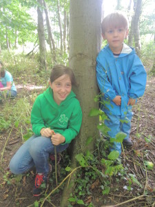 Buddies at Forest School 026-2
