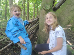 Buddies at Forest School 036-2