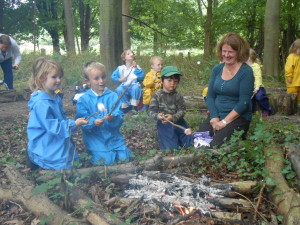 Parents at Forest School 066