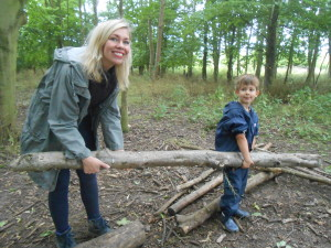 Parents at Forest School 072