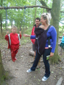 Parents at Forest School 073
