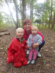 Parents at Forest School 074