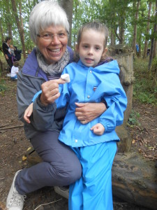 Parents at Forest School 082