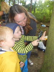 Parents at Forest School 089